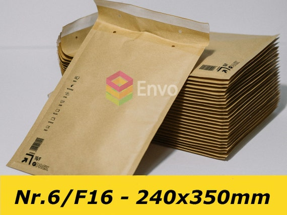 """25 Yellow 10/"""" x 14/"""" Mailing Postal Packaging Bags Recyclable 250x350mm"""