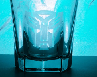 Transformers Whiskey Glasses