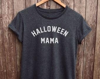 Halloween Mama womens tshirt - womens halloween top, halloween mom shirt, mama halloween top, womens halloween shirt, halloween shirt