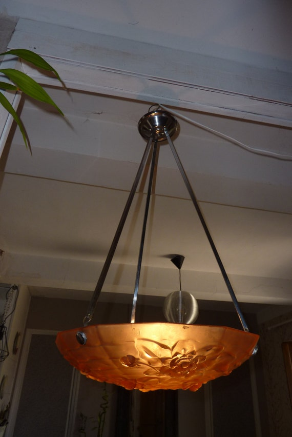 Pendant light lamp chandelier french antique ancient former