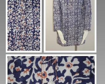 Block-printed cotton Kurta- Medium size