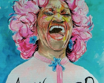 Celia Cruz - Larraitz con Pompa - Fine Art Print