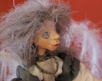 Angel Artdoll Vintage Art Doll handmade artistic doll