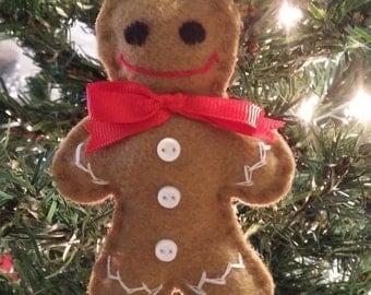 Christmas ornament Gingerbread (m02)