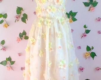 Little Romantique True Romantique Bridal Dress   Wedding Dresses   Bohemian   Shabby Chic   Beach Wedding   Alternative Wedding Dress   Love