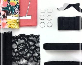 Rosie Bra Sewing Kit - INCLUDES PATTERN - Evie la Luve