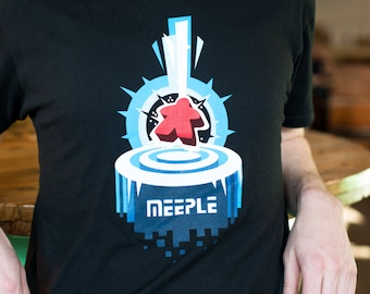 Awesome Meeple board game t-shirt