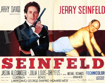 Seinfeld Movie Poster Art Print