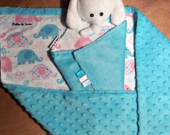 Pretty little baby blanket