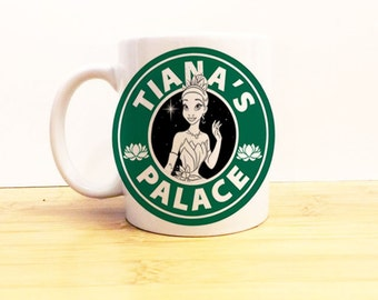 Sirenbucks Coffee Mug 11 Oz Disney Princess Starbucks By