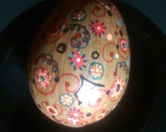Copper Fun Paper Mache Egg