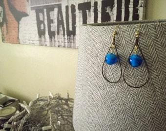 Large Water Drop Earrings