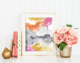 Modern Abstract Art Print Printable, Modern Art, Modern Home Office Decor, Modern Minimalist, Minimalist Art, Modern Nursery Art, 8x10, #2