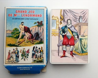 Astro Mythological Lenormand cards | vintage tarot cards | French card game