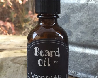 Woodsman Beard Oil