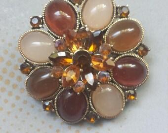 Vintage Costume Jewelry Brooch