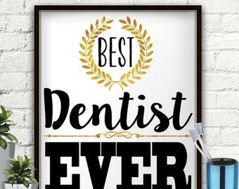 Best Dentist Ever, Dentist Gift, Gifts For Dentist, Dentistry, Future Dentist, Dental, Dental Gifts, Dental Office Decor, Dental Art, Tooth