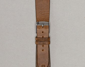 The Arbalist | 20mm Vintage Leather Watch Strap