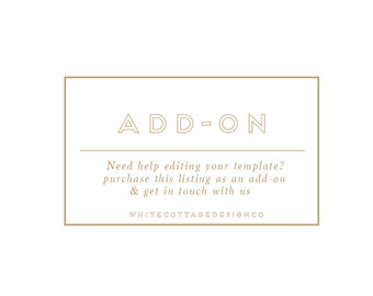 Add on-Help editing your template-Stationery items need help with editing