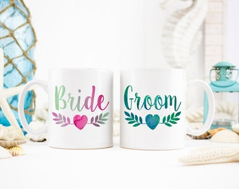 Mr. And Mrs. Mug, Mr. and Mrs. Gift, Engagement Gift, Engagement Mugs,Bride and Groom, Newlywed Gifts, Wedding Gift, Wedding Mugs