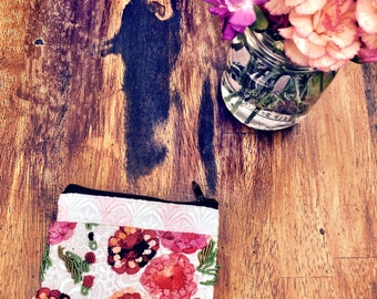 Lovely Embroidered Coin Purse