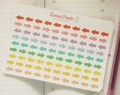 Small Arrows Planner Stickers | Stationery for Erin Condren, Filofax, Kikki K and scrapbooking