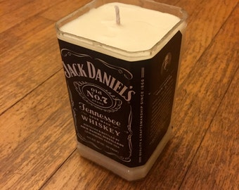 Whiskey Bottle All Natural Soy Candle