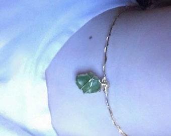Choker necklace wrap.