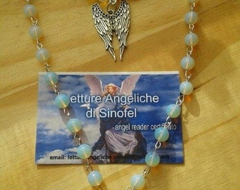 Angelica, opalite necklace and bracelet sets