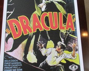 Dracula Movie Poster 24x36in Bela Lugosi
