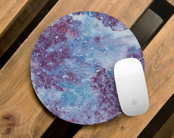 Marble Mouse Pad Marble Mousepad Round Mouse Pads Stone Mouse Mat Office Supplies Rectangular Mousemat Office Desk Accessories Marble Space