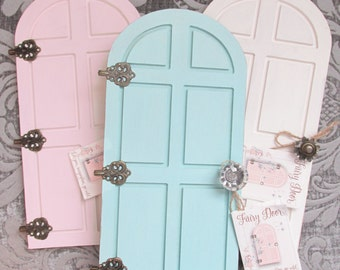 Elf Door, Fairy Door , Christmas Door, Tooth Fairy Door, Fairy Garden Door, Miniature Door, Elf Accessories, Girl's Decor , wall Art