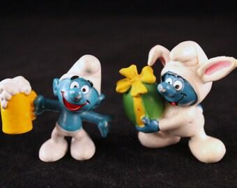 Peyo 1975 Smurf Figures