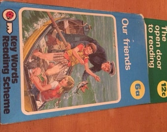 Vintage Ladybird Books - Key Words reading Scheme