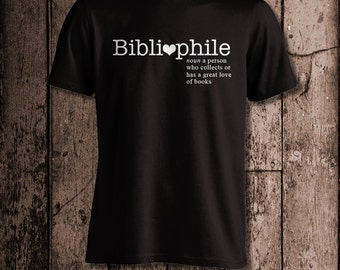 Bibliophile   Men's tee   Perfect for a book lover