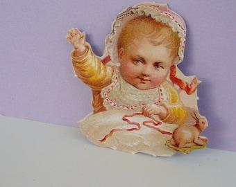 Anna Griffin Die Cut Victorian Embellishment Baby Craft Supplies