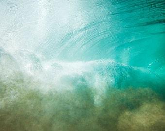 UNDERWATER 7 // PHOTO Print 49x60 cm on Dibond 3 mm // Underwater photography