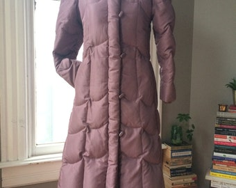 Vintage lavender J Gallery down jacket