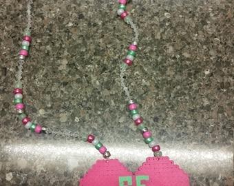 Be Mine Perler Necklace