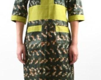 dress bazin