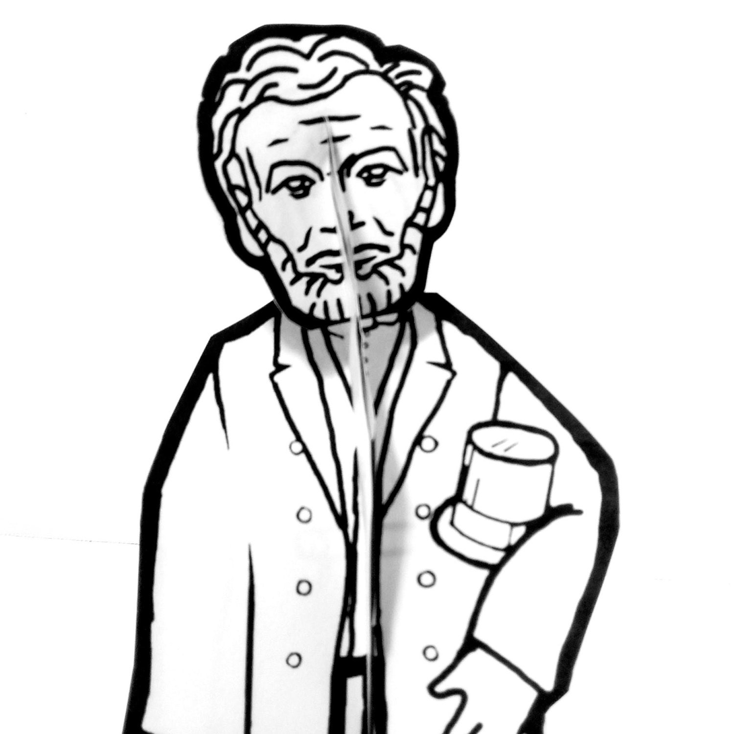 honest abe coloring pages - photo#19