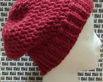 Extra Slouchy Beanie - Crochet