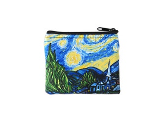 Starry Night Coin Bag // Change Purse // Pouch