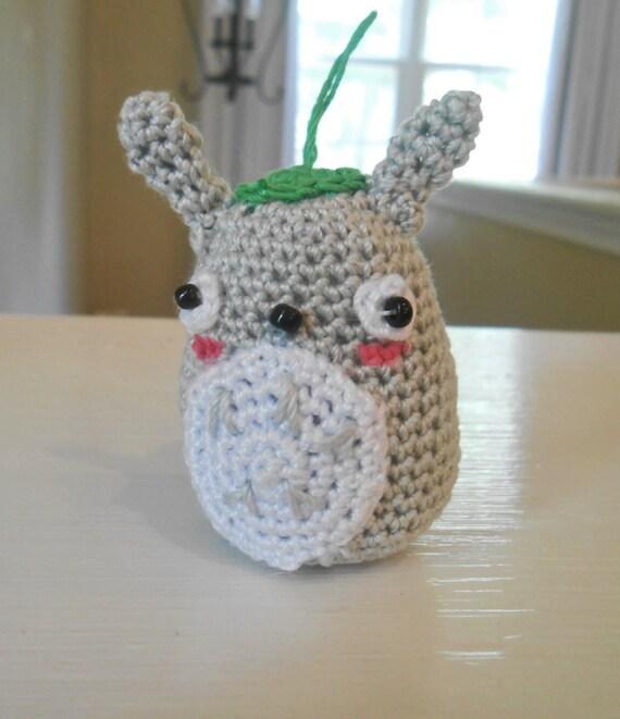 Tiny Totoro Amigurumi : Handmade Crochet Kawaii Tiny Totoro Amigurumi Toy