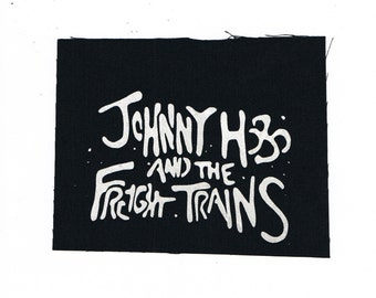 Johnny Hobo and the Freight Trains Folk Punk Band Patch Crust Punk Death Metal Black Metal Bands Patches