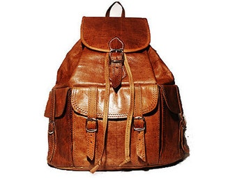 80's Style Festival Rucksack | Hand Polished