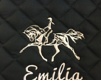 Personalized Saddle Pad with Design