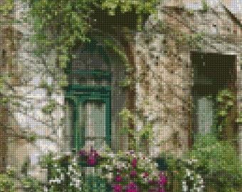 Parisian Balcony Cross Stitch pattern PDF - Instant Download!