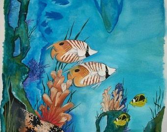 Puhi and Kiko'ia--Eel and Reef Fish