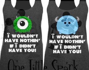 Monsters Inc tank top // Monsters university  // MU // TSUM  TSUM shirt//